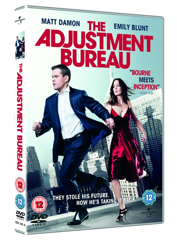the adjustment bureau dvd review heyuguys. Black Bedroom Furniture Sets. Home Design Ideas