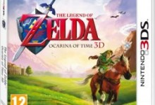 the legend of zelda ocarina of time 3d box art