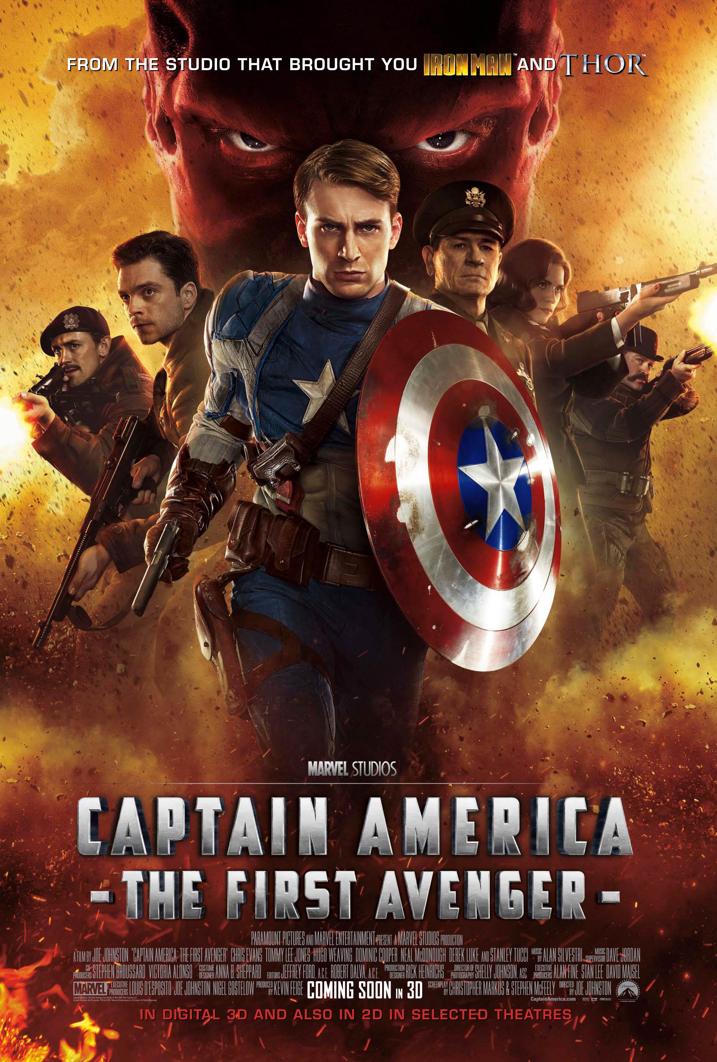 New Clip from Captain America: The First Avenger - HeyUGuys