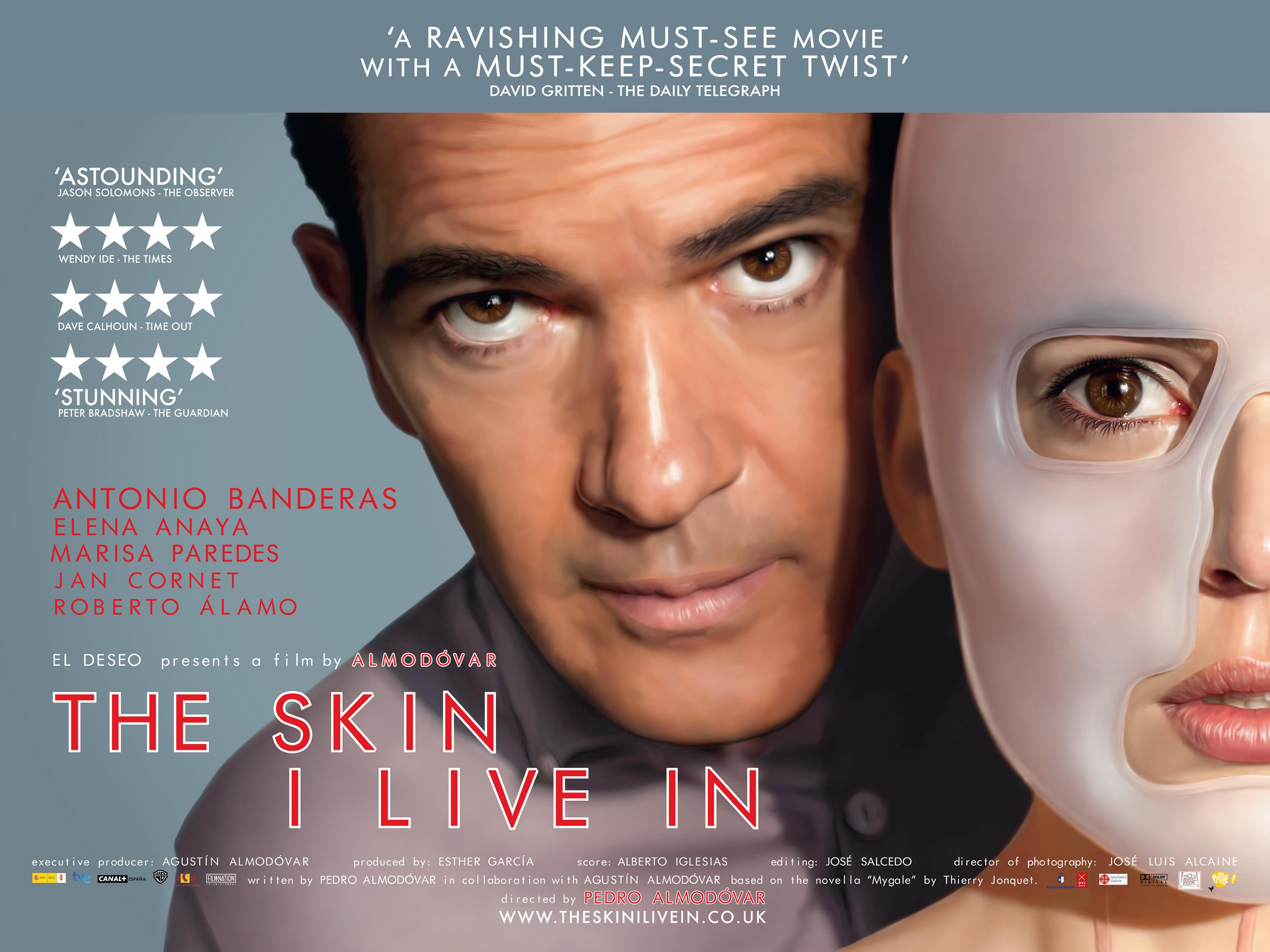 Uncover - Página 9 The-Skin-I-live-In-Huge-Poster