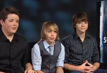 Joel Courtney, Riley Griffiths & Ryan Lee