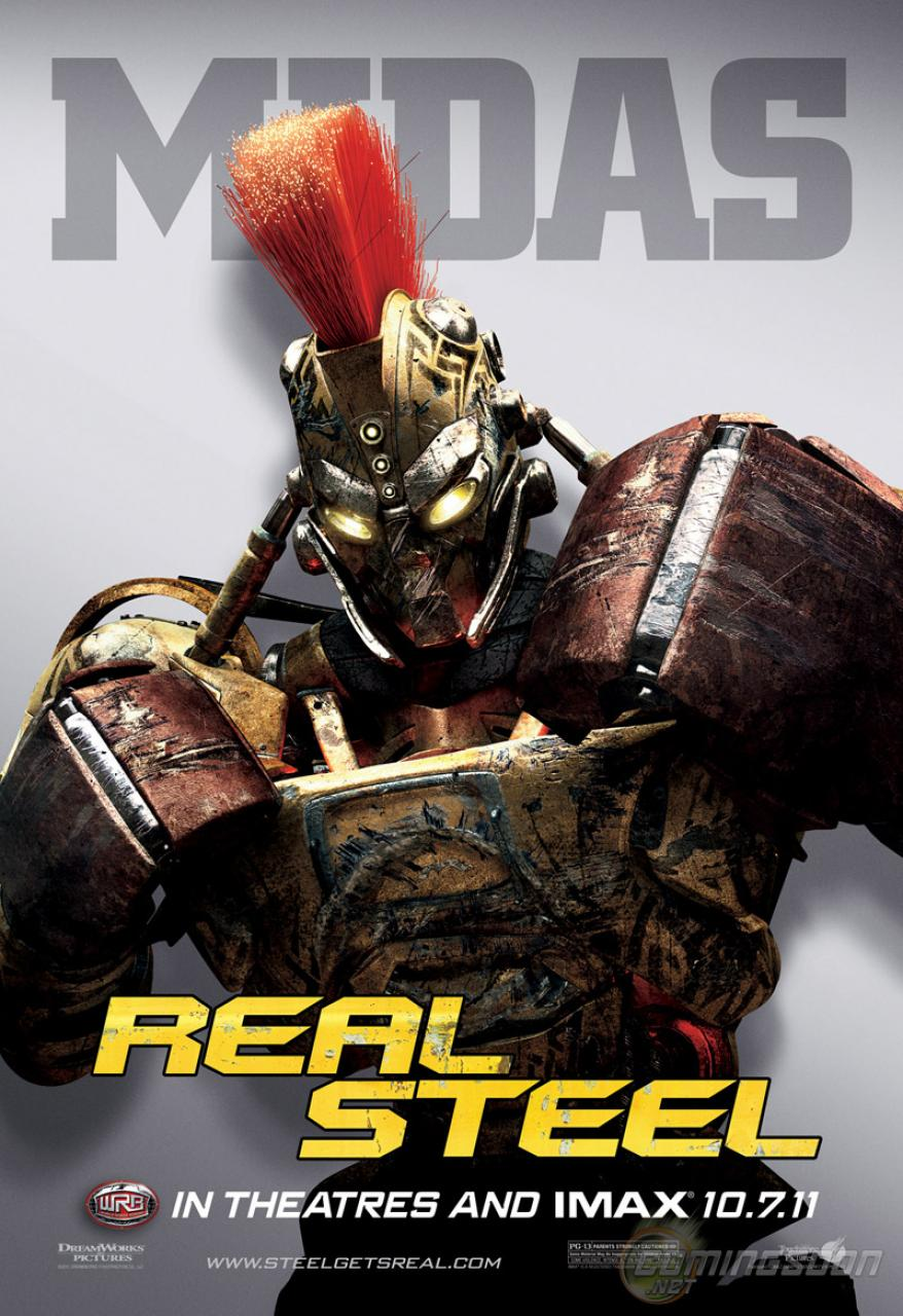 Real Steel Poster - Mi... Andrew Garfield Breathe