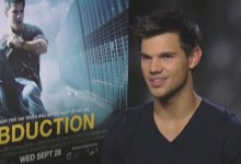 Taylor Lautner - Abduction Junket