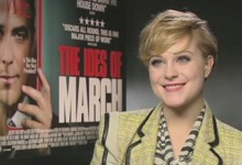 Evan Rachel Wood - The Ides of March Junket