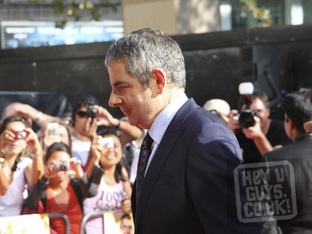 Johnny English Reborn Premiere Interviews Including Rowan Atkinson