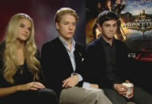 Logan Lerman - The Three Musketeers Junket