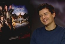 Orlando Bloom - The Three Musketeers Junket