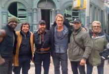 The Expendables 2 set photo