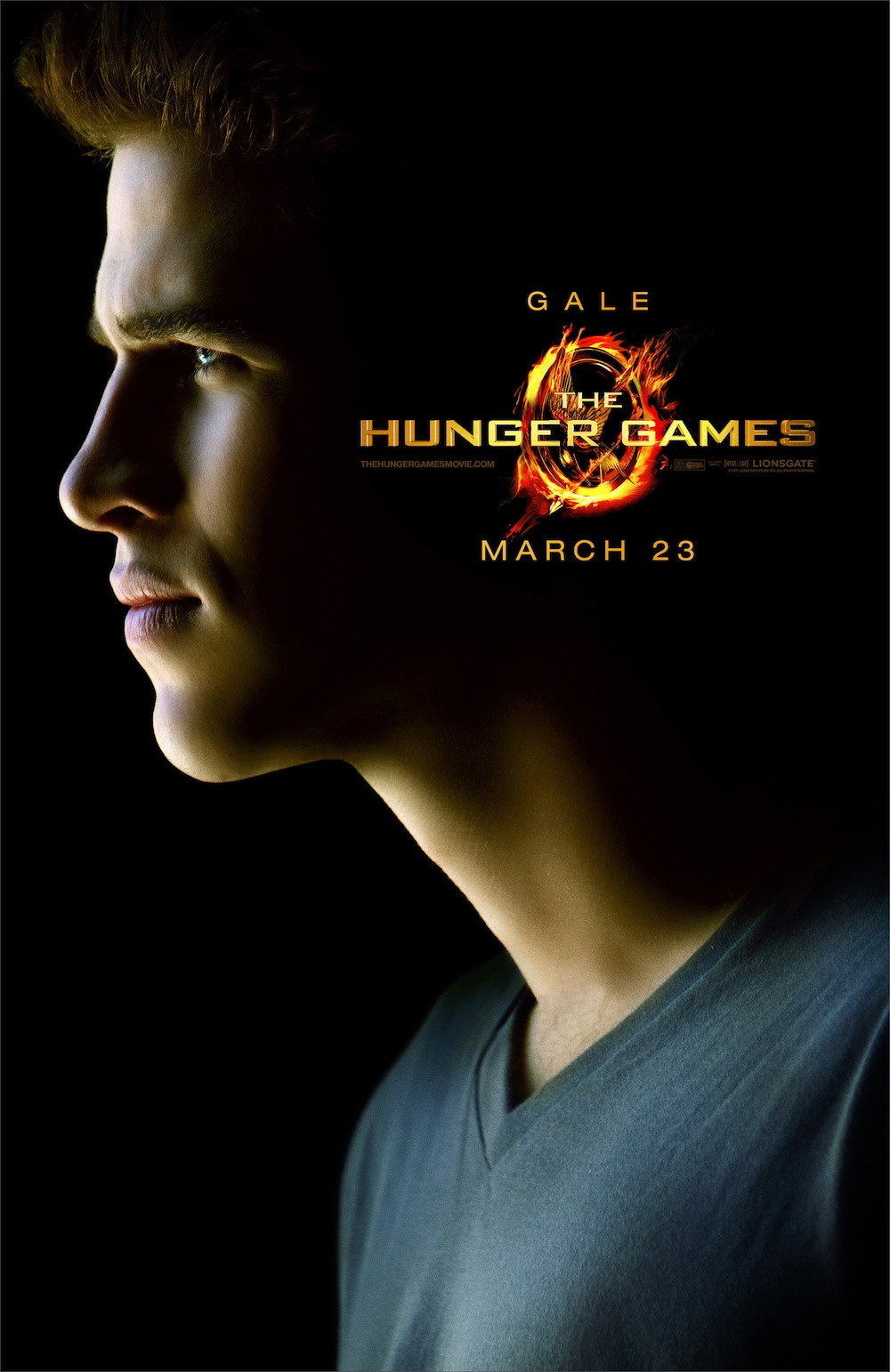 The Hunger Games Poster - Gale