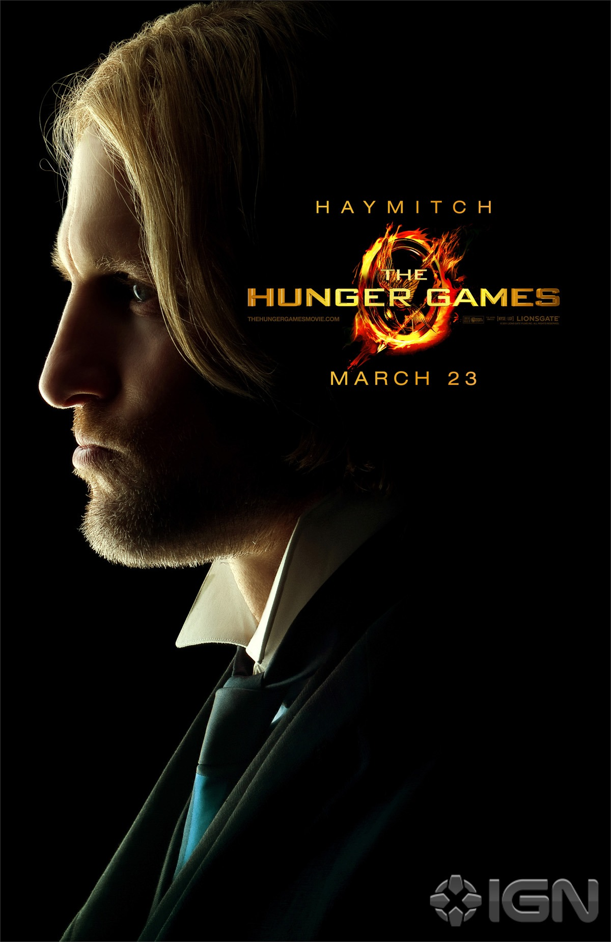 The Hunger Games Poster - Haymitch