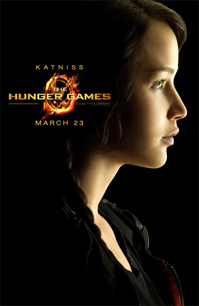 The Hunger Games Poster - Jennifer Lawrence