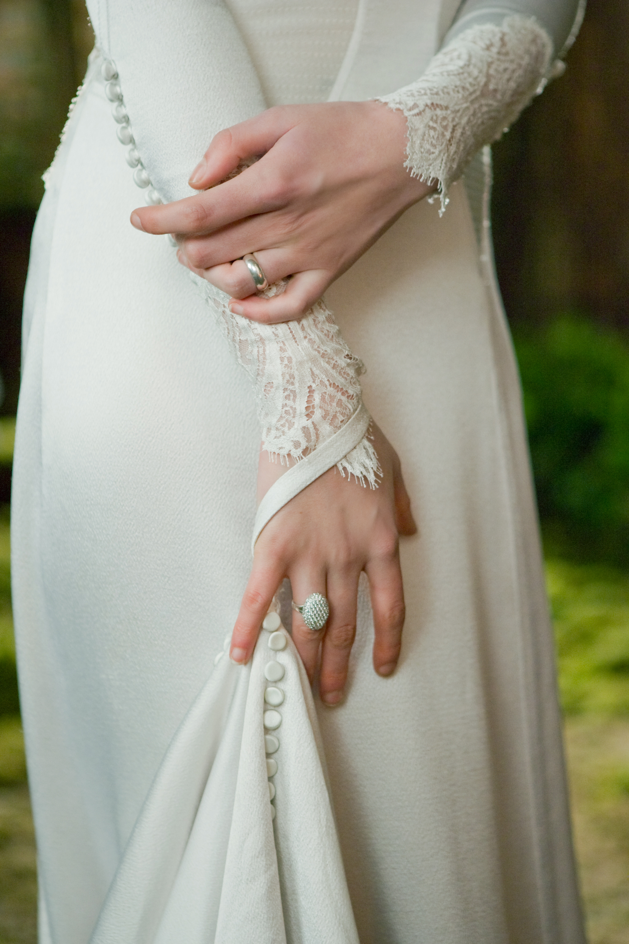 Twilight breaking dawn part 1 wedding dress images facts for Bella twilight wedding dress