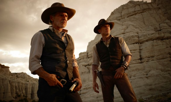 Cowboys and Aliens - Harrison Ford and Daniel Craig