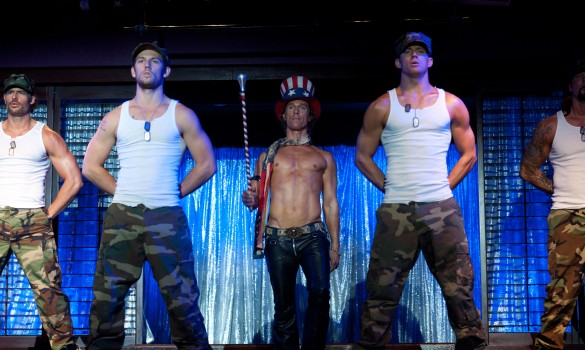 First Image Of Channing Tatum And MATTHEW MCCONAUGHEY As Male Strippers In ...