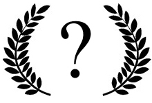 film festival laurels question mark