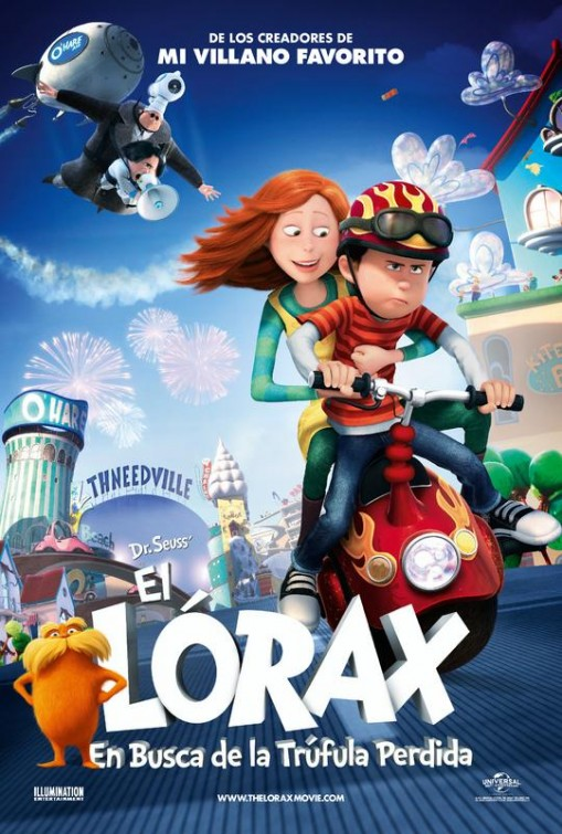 Dr. Seuss' The Lorax (2012/RUS/CAMRip)