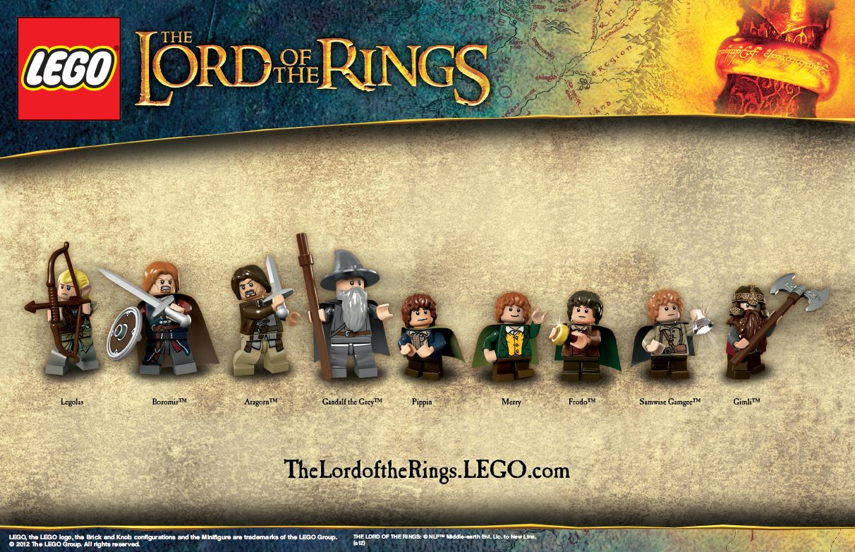 lego lord of the rings - photo #1