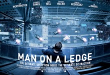 Man on a Ledge UK Poster