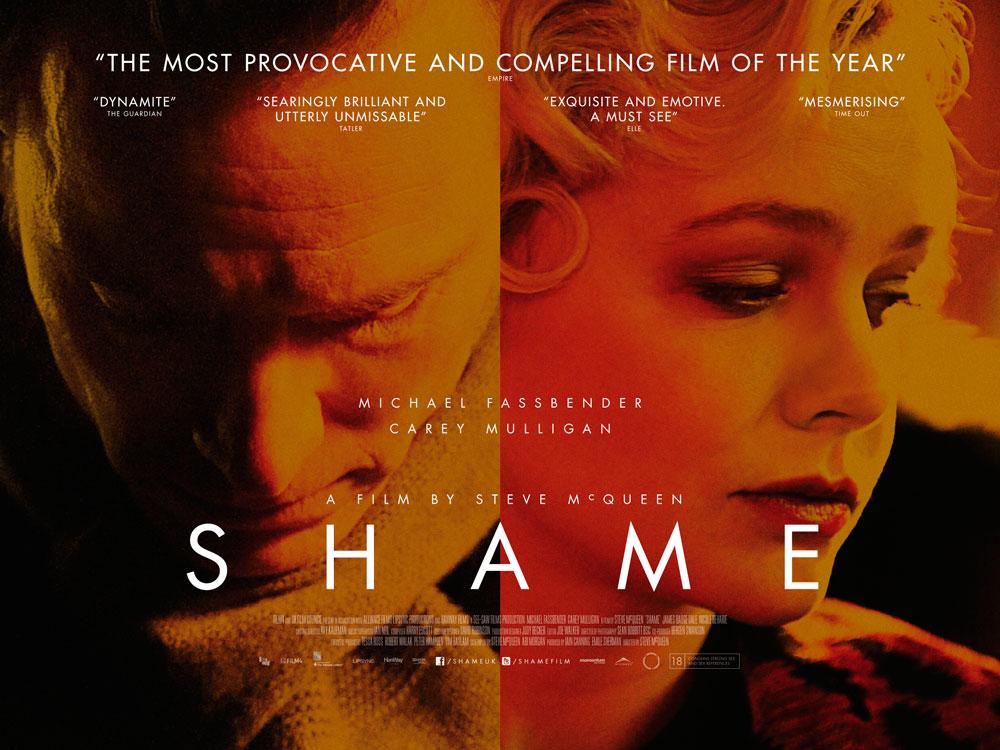 SHAME quad poster
