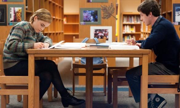 Emma Watson & Logan Lerman in The Perks of Being a Wallflower