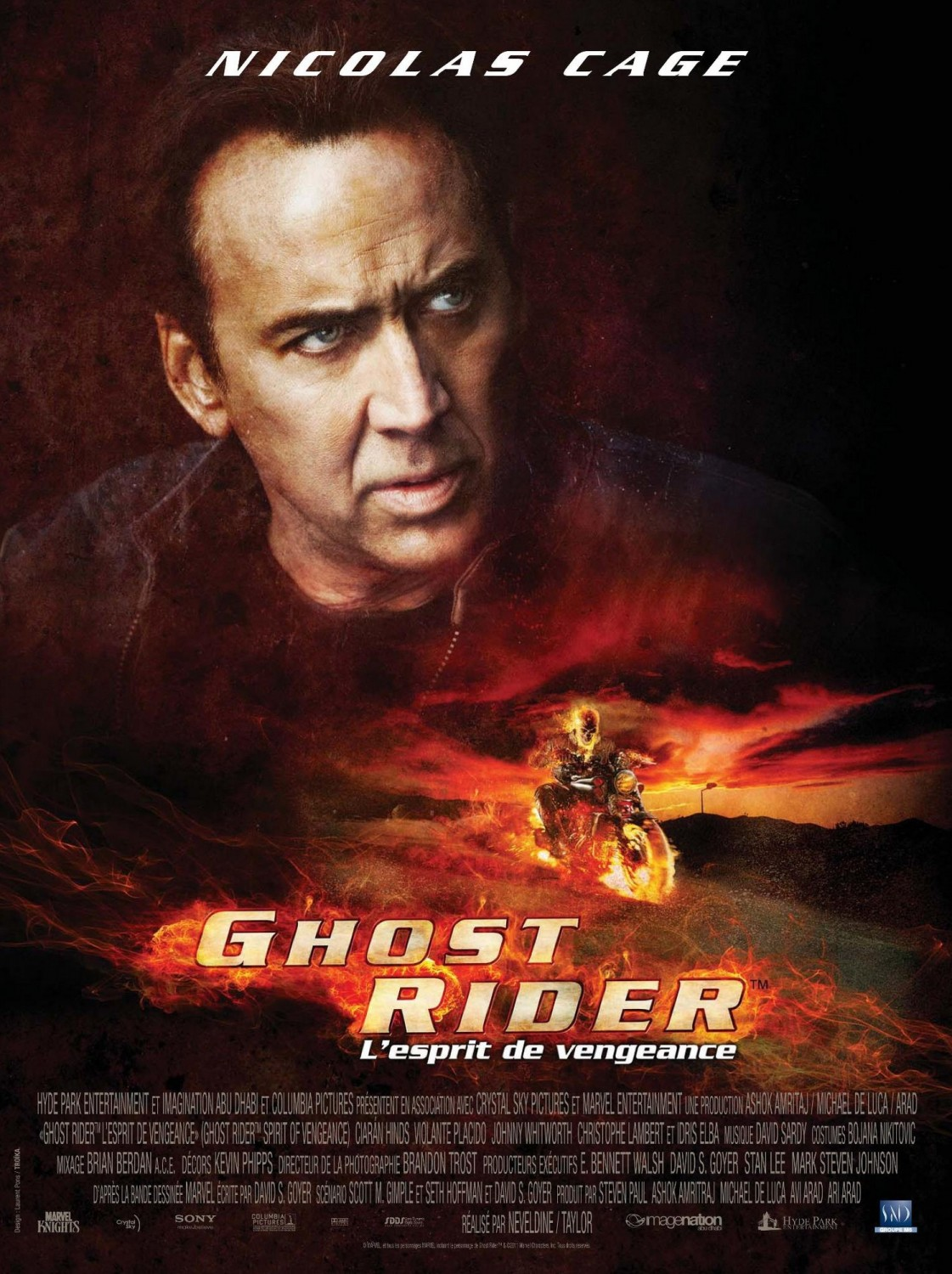 Ghost Rider Spirit of Vengeance Poster