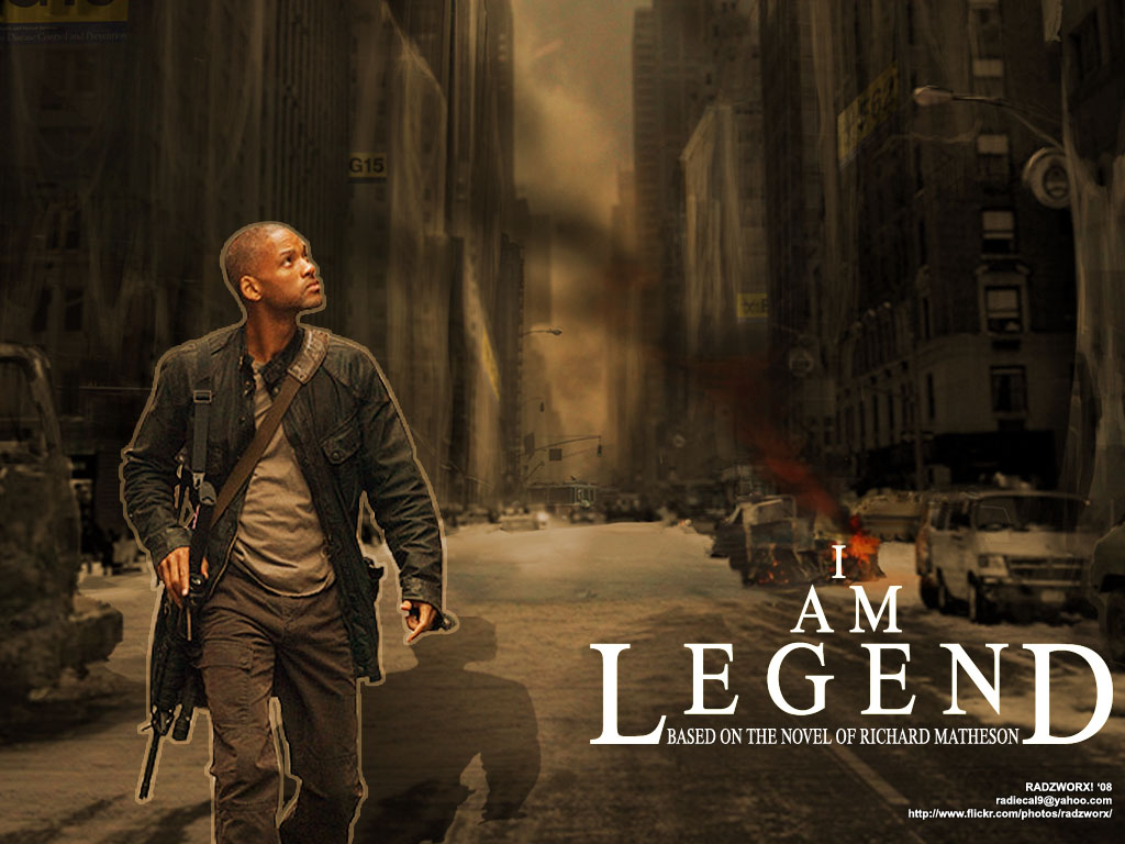 I Am Legend Will Smith I Am Legend - HeyUGuys