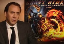 Nicolas Cage Interview - Ghost Riser 2