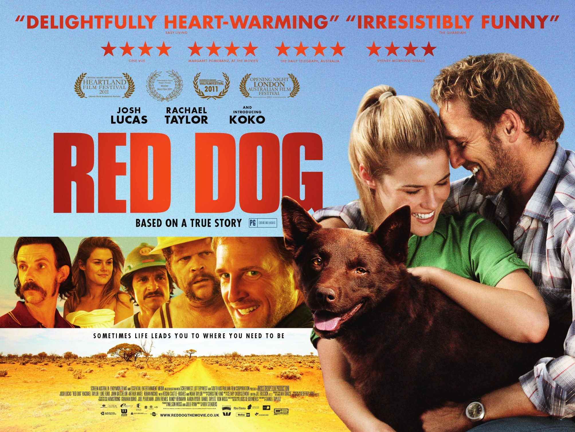 Watch Red Dog True Blue Full Movie