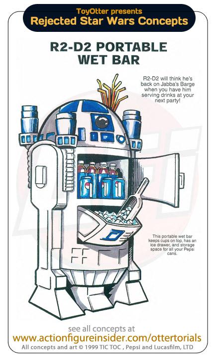 Star wars merchandise wet bar heyuguys for Merchandising star wars