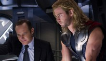 The Avengers Thor and Agent Coulson