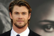Actor Chris Hemsworth arrives at the pre
