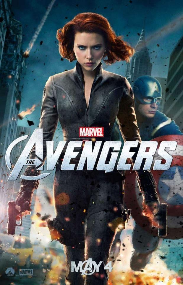 The Avengers Black Widow poster - HeyUGuys