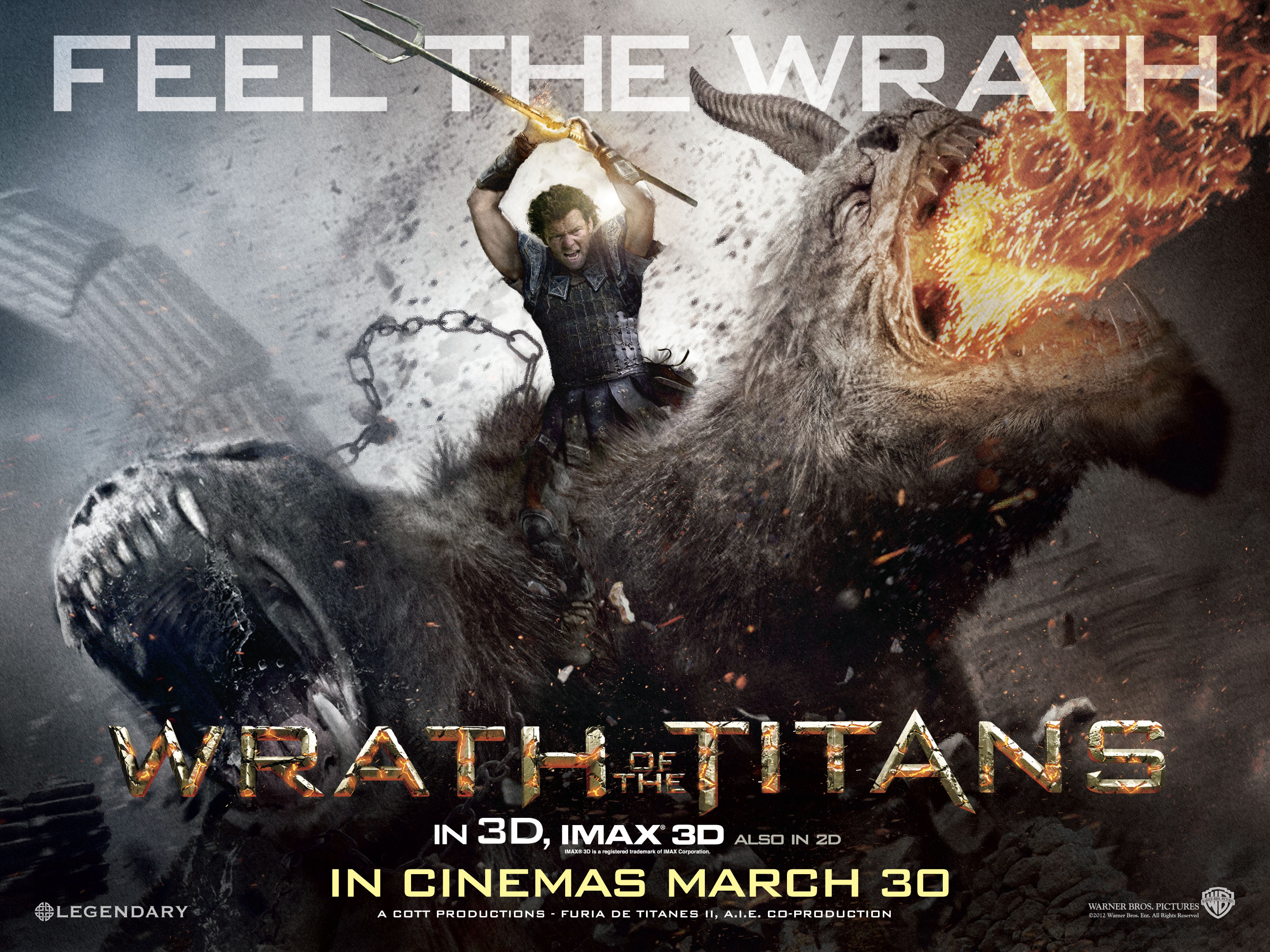 Titans Movie 2019 Poster: Wrath Of The Titans UK Poster