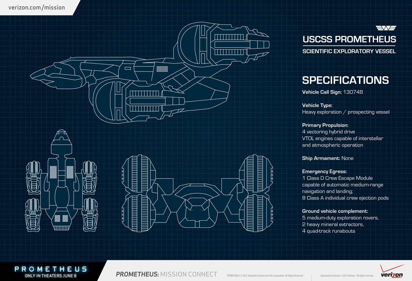 Prometheus blueprint heyuguys prometheus blueprint malvernweather Gallery