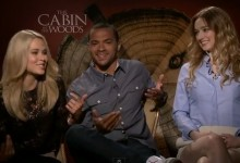 the cabin in the Woods cast interview
