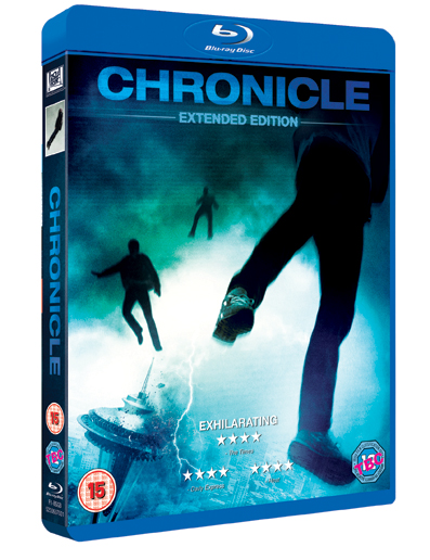 Chronicle Blu-ray Packshot