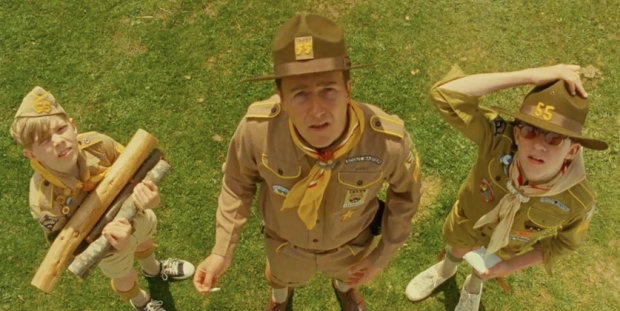Edward Norton in Moonrise Kingdom