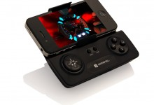 Gametel controller with iPhone