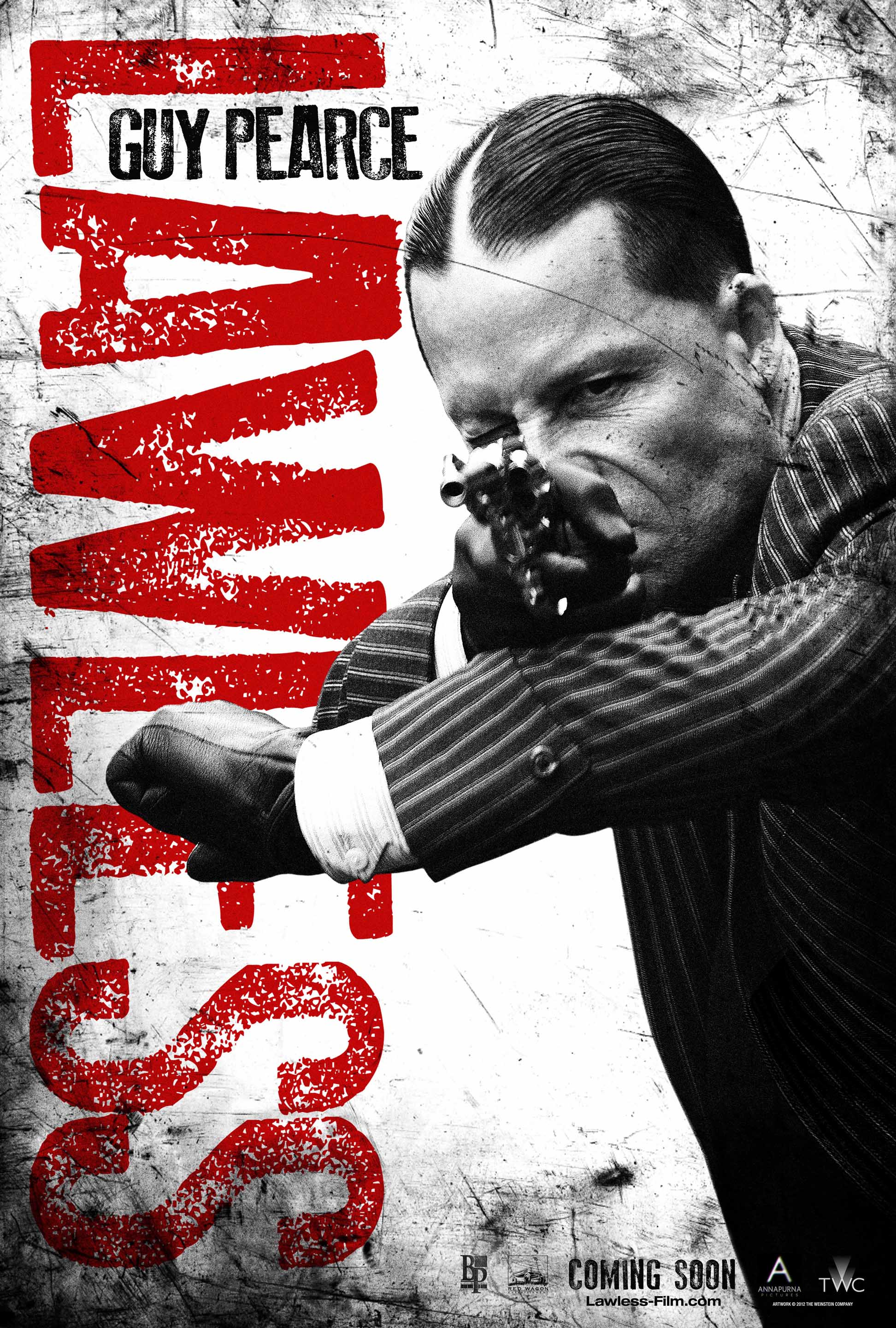 lawless movie poster guy pearce heyuguys