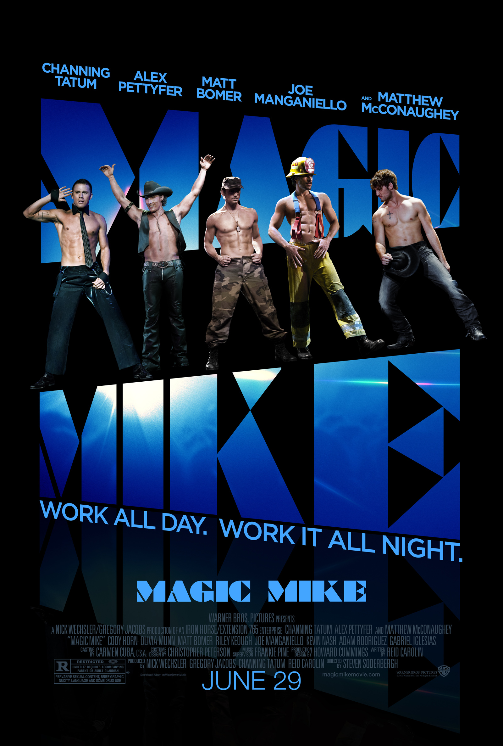 Magic Mike poster