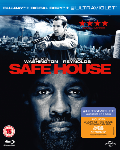Safe House Blu-ray box art