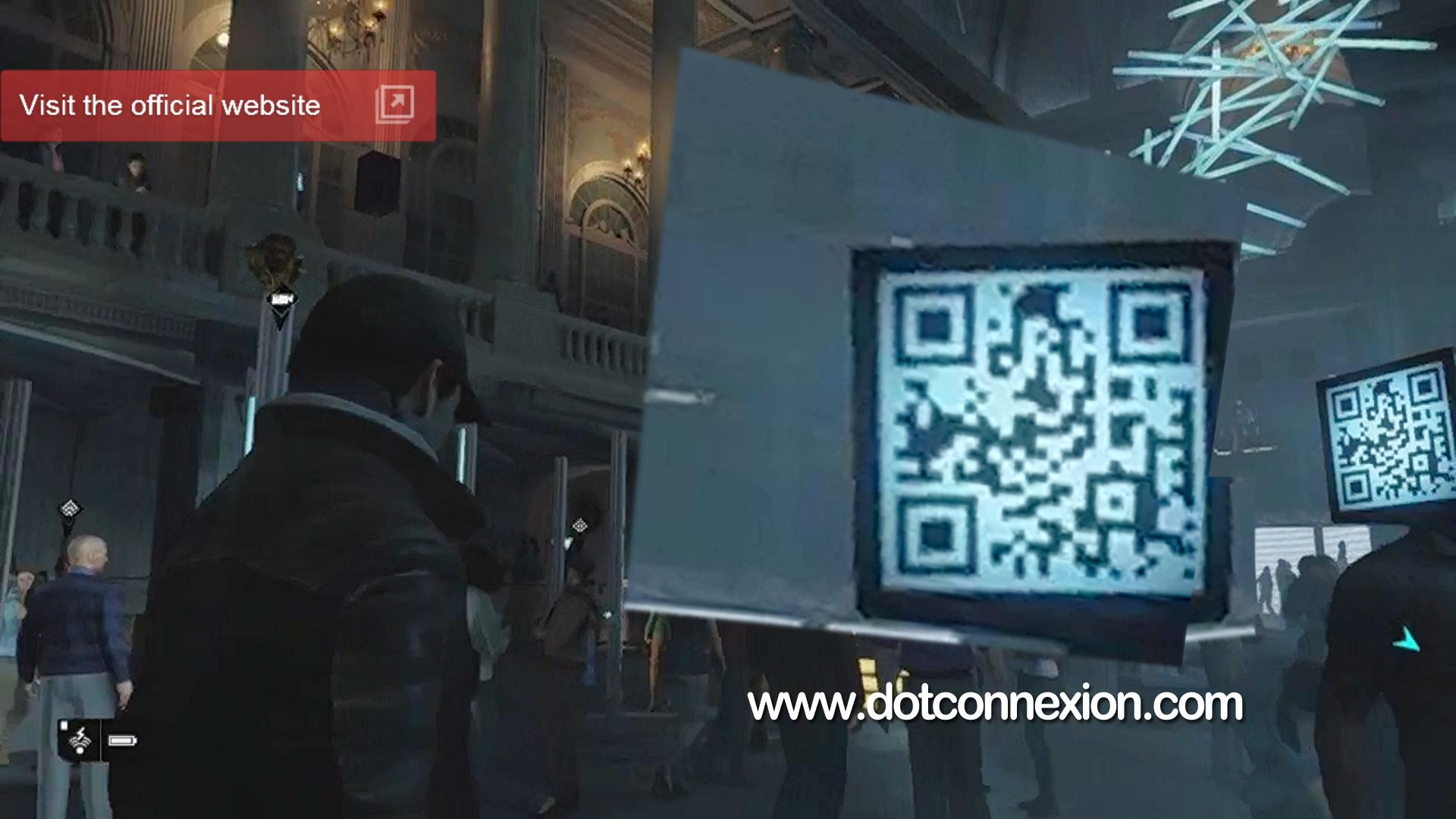 Hidden Qr Codes Watch Dogs