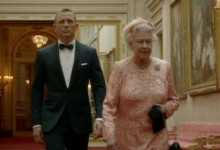 Daniel Craig and The Queen