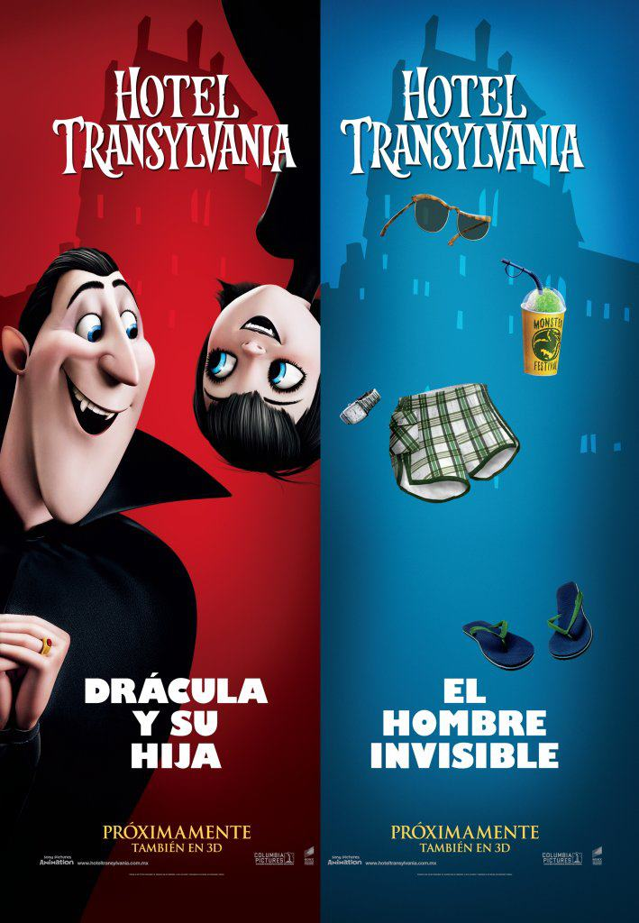 Hotel transylvania character posters and banners for Character hotel