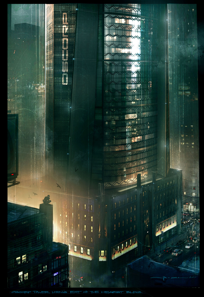 Oscorp Industries Building The amazing spider-man – oscorp ...