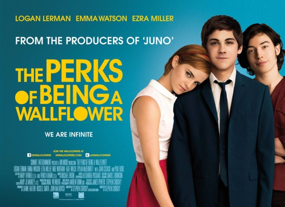 """FILM >> """"The Perks of Being a Wallflower"""" (Emma Watson) The-Perks-of-Being-a-Wallflower-Poster-585x426"""