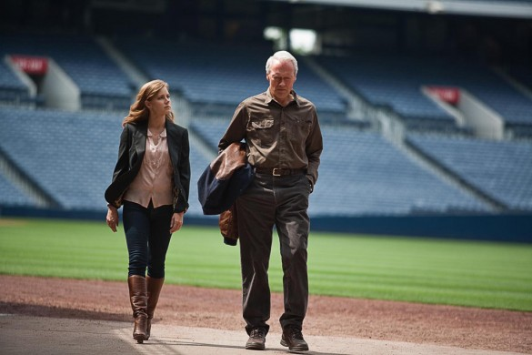Clint Eastwood and Amy Adams in Trouble with the Curve