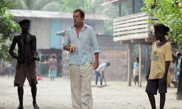 Hugh Laurie in Mr. Pip