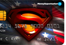 Man of Steel Airmiles Credit Card
