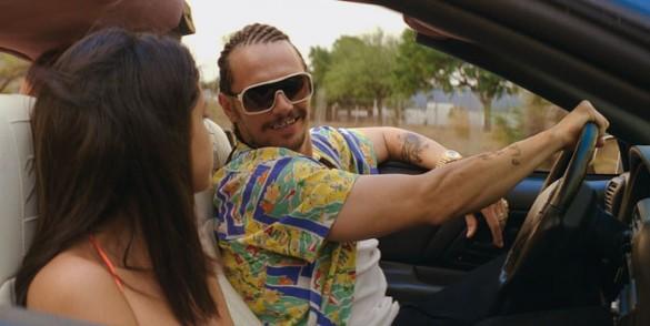 Selena Gomez and James Franco in Spring Breakers